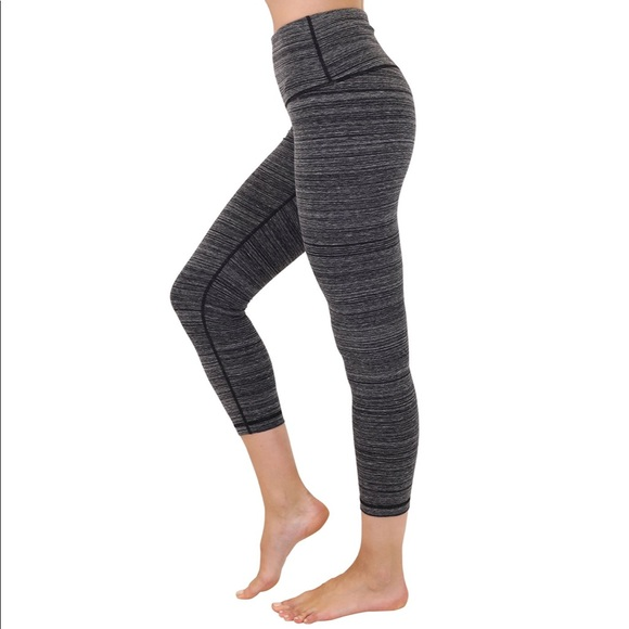 92d9f37e98 90 Degree By Reflex Pants | 90 Degree Capris Leggings In Oreo Black ...
